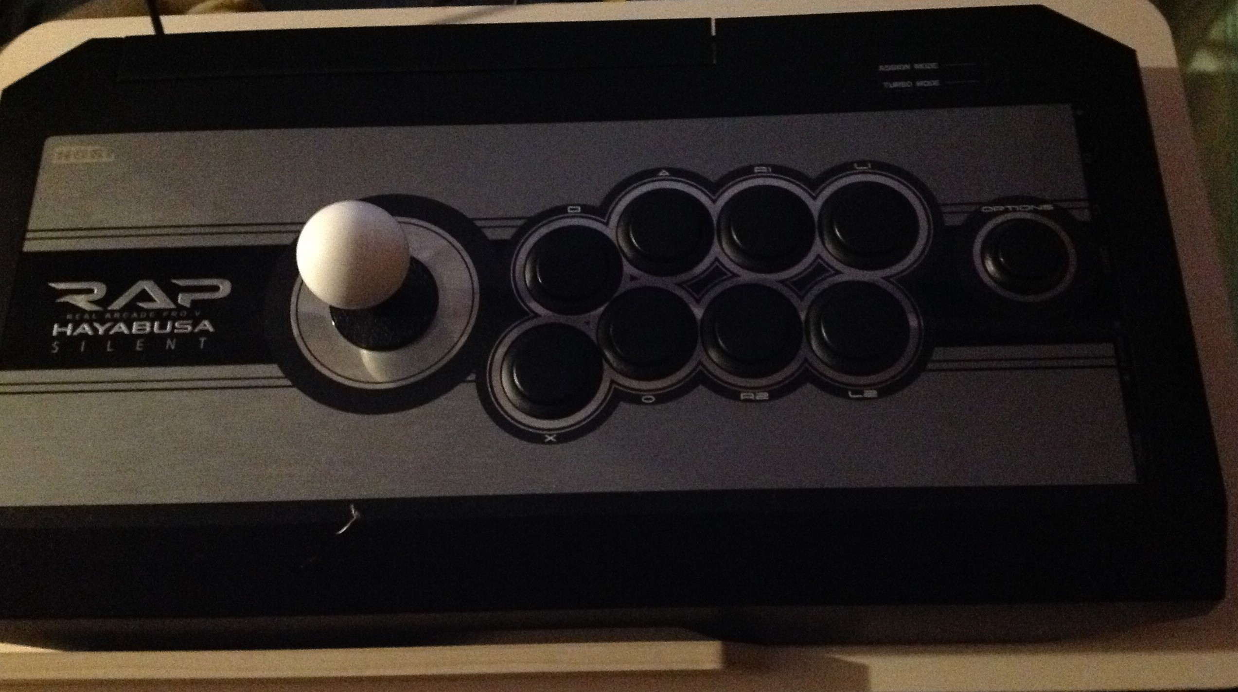 how to turn on hori rap 5